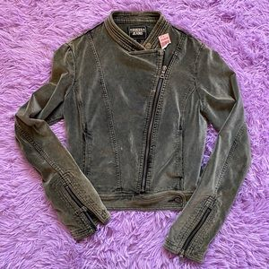 Vintage Velour Guess Jacket
